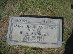 Mary <i>Dixon</i> Andrews