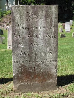 Mary widow of Capt. Joseph <i>Benedict</i> Starr