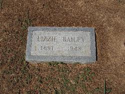 Nancy Elizabeth Lizzie <i>Blanton</i> Bailey