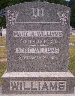 Mary Ann <i>Freeman</i> Williams