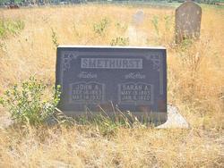 Sarah Ann <i>Florence</i> Smethurst
