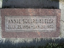 Annie <i>Squire</i> Butler