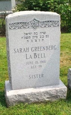 Sarah <i>Greenberg</i> LaBell