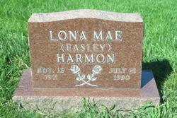 Lona Mae <i>Easley</i> HARMON
