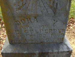Dora V. <i>Hardison</i> Culpepper