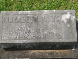 Elizabeth C. <i>Burkett</i> Atwood