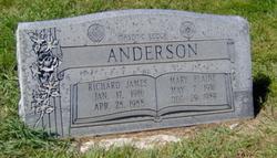Mary Elaine <i>Hunter</i> Anderson