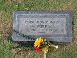 Louise <i>Montgomery</i> Baber
