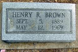 Henry Robert Brown