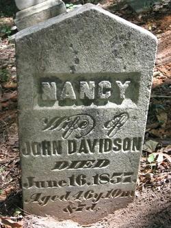 Nancy <i>Holtsclaw</i> Davidson