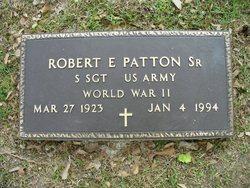 Rev Robert E Patton, Sr