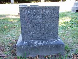 Grace <i>Caswell</i> Abbott