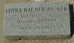 Leona <i>Wagner</i> Becker