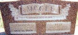 Yvonne <i>Green</i> McGee