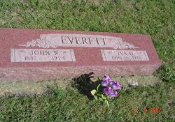 Iva O. <i>Jones</i> Everett