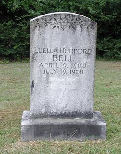 Luella <i>Burford</i> Bell