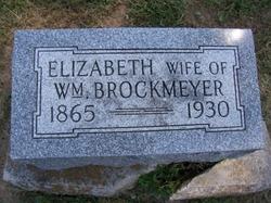 Elizabeth Frances Lizzie <i>Bowers - Hunsaker</i> Brockmeyer