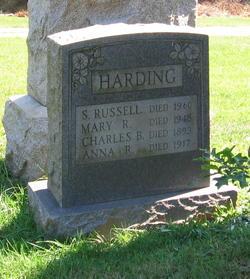 Mary Rebecca <i>Ridge</i> Harding