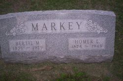 Bertie Tinsley. <i>Simms</i> Markey