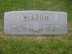 Martha Anita <i>Parrish</i> Wisdom