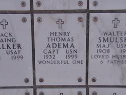 Capt Henry Thomas Adema