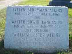 Evelyn <i>Berryman</i> Atkins