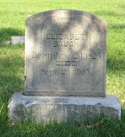 Elizabeth <i>Ferneyhough</i> Baugh