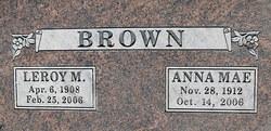 Anna Mae Jane <i>Lomerson</i> Brown