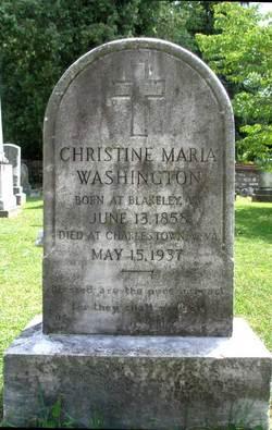 Christine Maria Washington