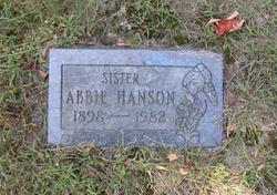 Abbie Frances Hanson