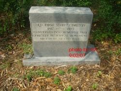 Old Graveyard Memorial Park