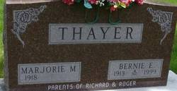 Bernie Edward Thayer