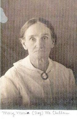 Mary Maria <i>Fay</i> McClellan