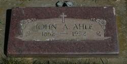John August Gustaf Ahlf