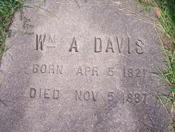 William A Davis