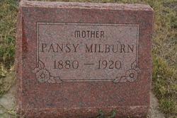 Pansy Mary <i>Hubbard</i> Milburn