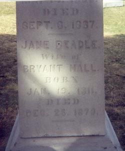 Jane <i>Beadle</i> Hall