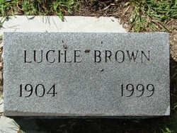 Lucile Brown