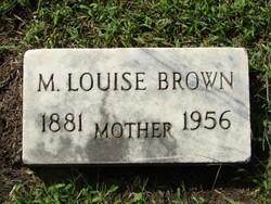 Minnie Louise <i>Tannahill</i> Brown