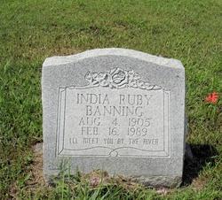 India Ruby <i>Brackett</i> Banning