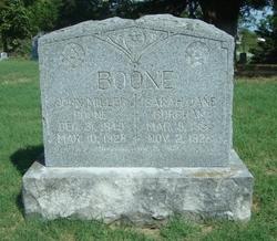 Sarah Jane <i>Burcham</i> Boone