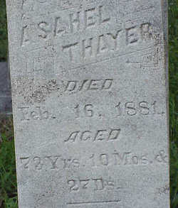 Asahel Thayer