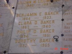 Benjamin Eugene Baker