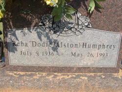 Reba Dodie <i>Alston</i> Humphrey