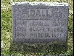 Clara Emma <i>Cranston</i> Ball