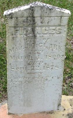 Frances <i>Webb</i> Clark