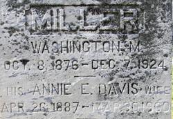 Annie E. <i>Davis</i> Miller