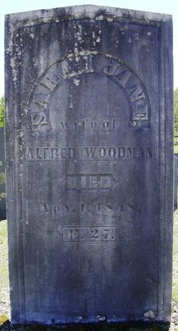 Sarah Jane <i>Haskell</i> Woodman