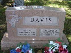 Marjorie J Davis