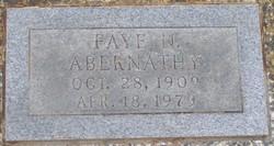 Faye N. Abernathy